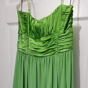 Suzie Chin for Maggy Boutique Green Apple Dress